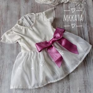 Alkalmi ,keresztelő kislány ruha 62-es méret , Ruha & Divat, Keresztelő ruha, Babaruha & Gyerekruha, Varrás, Meska