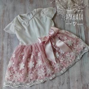 Alkalmi ,keresztelő kislány ruha 74 es méret , Keresztelő ruha, Babaruha & Gyerekruha, Ruha & Divat, Varrás,   Alkalmi-   keresztelő kislány ruha\n Mérete :74-es\nMellbősége :51cm\nTeljes hossza :42 cm \nSzíne :ek..., Meska