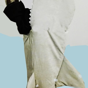 Óriás cápa jelmez, Ruha & Divat, Jelmez & Álarc, Jelmez, Varrás, A vizek királya a cápa! Ha ti is szeretitek ezt a hírhedt ragadozót, jó helyen jártok!\n\n\n\nJelmezeink..., Meska
