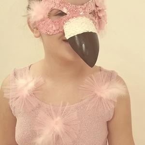 Flamingó- csak álarc! (mmajcsi13) - Meska.hu