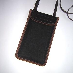 Vízhatlan mobiltok  Plus-os méretű telefonokhoz  állítható pántos kistáska, Táska & Tok, Pénztárca & Más tok, Telefontok, Varrás, Egyedi ,igényesen elkészített, esőálló anyagból készült mobiltartó, telefontok. Tökéletesen illeszke..., Meska