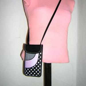 Állítható pántos mobil tok  Plus-os méretű telefonokhoz   (mocsi) - Meska.hu