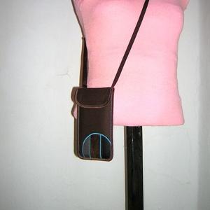Mobil Tok állítható pánttal  XL telefon tartó Nyakba akasztható kistáska - táska & tok - pénztárca & más tok - telefontok - Meska.hu