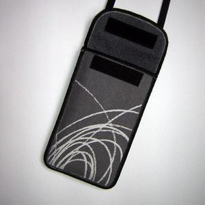 Állítható pántos mobil tok  Plus-os méretű telefonokhoz   - Meska.hu