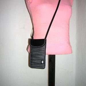 Telefon tok állítható pántos  XL mobil tartó Nyakba akasztható kistáska  - Meska.hu