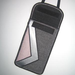 Mobiltok állítható pántos  XL telefon tartó Nyakba akasztható kistáska pasztell (mocsi) - Meska.hu