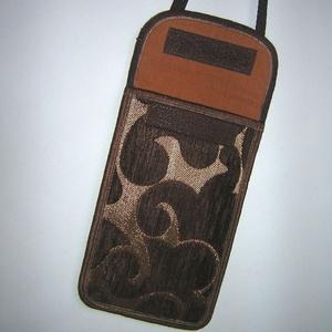 Állítható pántos elegáns mobil tok  Plus-os méretű telefonokhoz   - Meska.hu