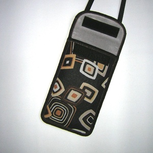 Telefon tok  Plus-os méretű telefonokhoz  XL-es tok állítható pánttal nyakbaakasztható/oldaltáska - Meska.hu