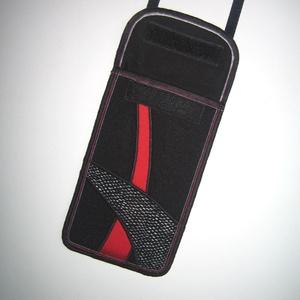 Állítható pántos mobiltok  Plus-os méretű telefonokhoz   - Meska.hu