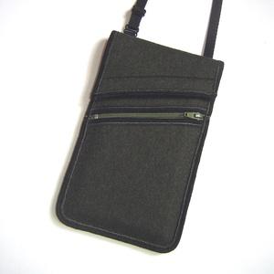 Telefontok kártyatartó kis zsebbel Nyakba akasztható elegáns kistáska  khaki, Táska & Tok, Telefontok, Pénztárca & Más tok, Varrás, Mindenmás, Meska