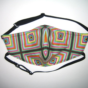 Szájmaszk arcmaszk biciklis maszk állítható gumival - maszk, arcmaszk - női - Meska.hu