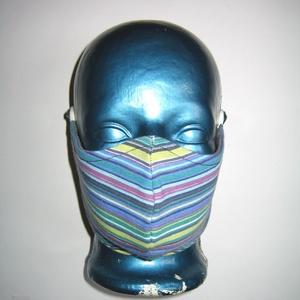 Szájmaszk szabályozható gumival arcmaszk biciklis maszk , Táska, Divat & Szépség, Szépség(ápolás), Maszk, szájmaszk, Varrás, Újrahasznosított alapanyagból készült termékek, Igényesen elkészített, mosható, háromrétegű, mindkét felén hordható szájmaszk.  A gumija állítható, ..., Meska