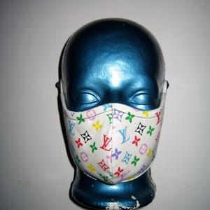 Szájmaszk szabályozható gumival arcmaszk biciklis maszk , Egyéb, NoWaste, Táska, Divat & Szépség, Szépség(ápolás), Maszk, szájmaszk, Varrás, Igényesen elkészített, mosható, háromrétegű, mindkét felén hordható szájmaszk.  A gumija állítható, ..., Meska