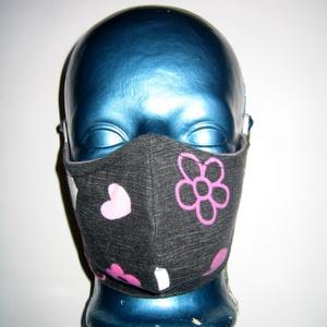 Szájmaszk szabályozható gumival arcmaszk biciklis maszk , Egyéb, NoWaste, Táska, Divat & Szépség, Szépség(ápolás), Maszk, szájmaszk, Varrás, Újrahasznosított alapanyagból készült termékek, Igényesen elkészített, mosható, háromrétegű, mindkét felén hordható szájmaszk.  A gumija állítható,..., Meska
