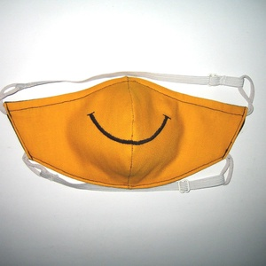 Minőségi Szájmaszk szabályozható gumival arcmaszk biciklis maszk  SMILE - Meska.hu