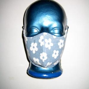 Szájmaszk arcmaszk textil maszk állítható gumival virágos, Maszk, Arcmaszk, Női, Varrás, Újrahasznosított alapanyagból készült termékek, Meska