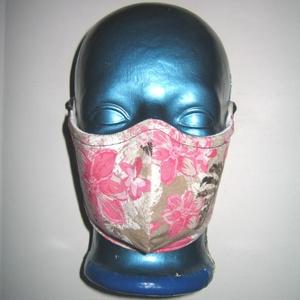 Virágos drótos egyedi szájmaszk állítható gumival orrmerevítős arcmaszk biciklis maszk , Maszk, Arcmaszk, Női, Varrás, Meska