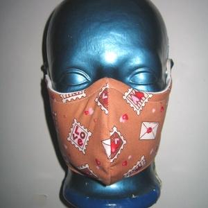 Bélyeges Szájmaszk szabályozható gumis arcmaszk bélyeg mintás biciklis maszk  , Maszk, Arcmaszk, Női, Varrás, Mindenmás, Meska
