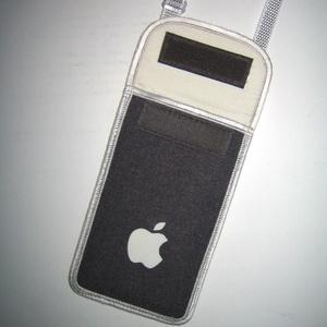 Nyakbaakasztató mobil tok  Plus-os méretű telefonokhoz  XL-es tok állítható pánttal - Meska.hu