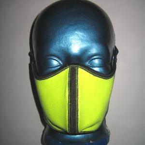 Formatervezett neon szájmaszk szabályozható gumival arcmaszk biciklis maszk , Egyéb, Táska, Divat & Szépség, Szépség(ápolás), Maszk, szájmaszk, Varrás, Egyedi, igényesen elkészített, mosható, vasalható háromrétegű szájmaszk. A gumija állítható, szabály..., Meska