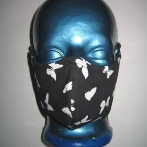 Lepkés szájmaszk orrmerevítős arcmaszk biciklis maszk, Maszk, Arcmaszk, Női, Varrás, Meska