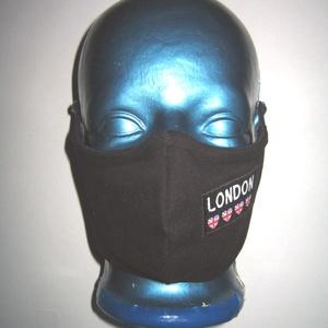 Orrmerevítős szájmaszk fekete arcmaszk biciklis maszk London, Maszk, Arcmaszk, Férfi & Uniszex, Varrás, Meska