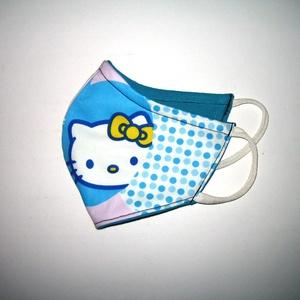 Hello Kitty-s egyedi Szájmaszk arcmaszk textil maszk   - Meska.hu