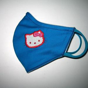 Hello Kitty Egyedi orrmerevítős Szájmaszk 2in1 arcmaszk biciklis maszk   - Meska.hu