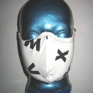 Anya-lánya Szájmaszk fülre akasztható arcmaszk biciklis maszk betűs - Meska.hu