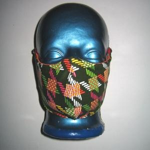 2in1 Szájmaszk orrmerevítős arcmaszk fülre akasztható védő maszk  - Meska.hu