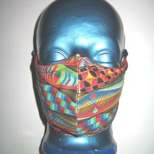 Egyedi szájmaszk orrmerevítős fülre akasztható arcmaszk  színes-arany - Meska.hu