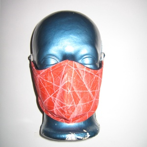 Egyedi szájmaszk orrmerevítős fülre akasztható arcmaszk textilmaszk, Maszk, Arcmaszk, Női, Varrás, Igényesen elkészített, mosható, vasalható háromrétegű, mindkét felén hordható szájmaszk. A felső rés..., Meska