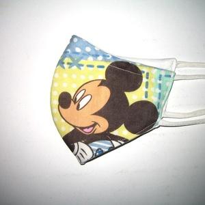 Gyerek szájmaszk textil maszk Mickey Mouse - Meska.hu
