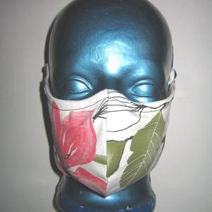 Egyedi szájmaszk orrmerevítős fülre akasztható arcmaszk   - maszk, arcmaszk - női - Meska.hu