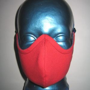 Speciális maszk szemüvegeseknek fülre akasztható arcmaszk  2in1 farmer szájmaszk - Meska.hu