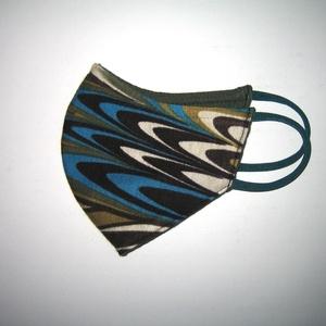 Egyedi Szájmaszk arcmaszk fülre akasztható 2in1 textil maszk páva - maszk, arcmaszk - női - Meska.hu