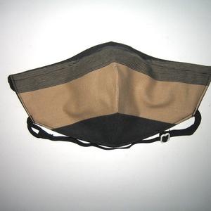 Szájmaszk szabályozható gumival arcmaszk biciklis maszk textil maszk - maszk, arcmaszk - női - Meska.hu