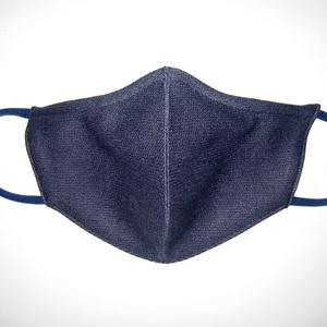 XL-es Férfi orrmerevítős szájmaszk fülre akasztható arcmaszk biciklis maszk Sötétkék, Maszk, Arcmaszk, Férfi & Uniszex, Varrás, Meska