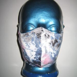 Szájmaszk fülre akasztható arcmaszk 2in1 textil maszk , Maszk, Arcmaszk, Női, Varrás, Igényesen elkészített, mosható, háromrétegű, mindkét felén hordható szájmaszk. Fülre akasztható.\nMér..., Meska