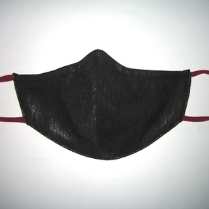 Csillogós szájmaszk orrmerevítős fülre akasztható textil maszk színjátszó - maszk, arcmaszk - női - Meska.hu