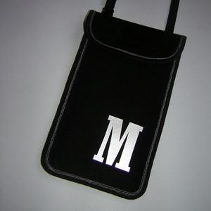 Állítható pántos mobil tok Plus-os méretű telefonokhoz  nyakba akasztható kistáska betűvel, Táska & Tok, Pénztárca & Más tok, Telefontok, Varrás, Meska