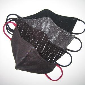 Csillogó maszk csomag 4db női textil maszk  - Meska.hu
