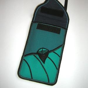 Mobiltok Plus-os méretű telefonokhoz szabályozható pántos Leveles - Meska.hu