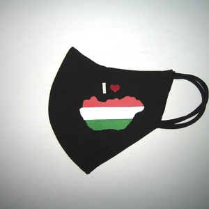 Drótos Szájmaszk fülre akasztható arcmaszk nemzeti textil maszk  I love Magyarország , Maszk, Arcmaszk, Női, Varrás, Meska