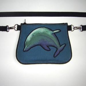 Delfines Övtáska  kis táska   - táska & tok - övtáska - Meska.hu