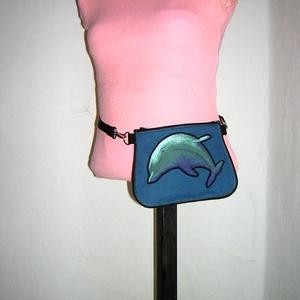Delfines Övtáska  kis táska   - Meska.hu