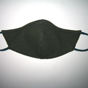 Ergonómikus maszk orrmerevítős fülre akasztható arcmaszk biciklis maszk Fekete - Meska.hu