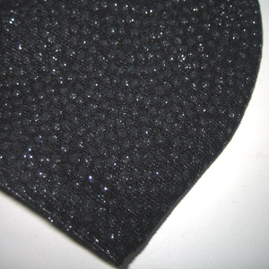 Sötétkék-Ezüst csillogó szájmaszk orrmerevítős fülre akasztható maszk exkluzív textilmaszk - maszk, arcmaszk - női - Meska.hu