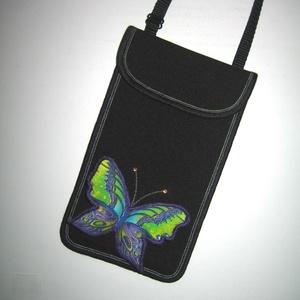 Telefontok 3D lepkés XL mobiltartó állítható pántos 2in1 mobiltok pillangós   - táska & tok - pénztárca & más tok - telefontok - Meska.hu