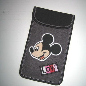 Mobiltok  Plus-os méretű telefonokhoz  Mickey egér - Meska.hu